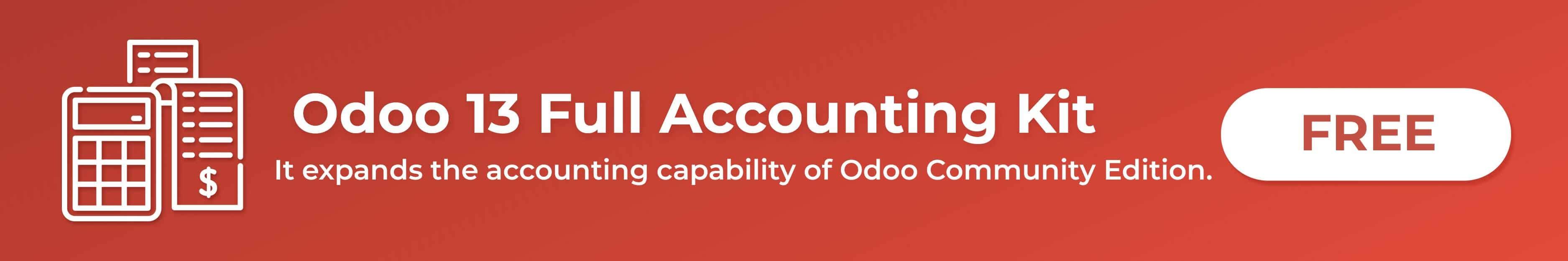 odoo 13 full accounting kit