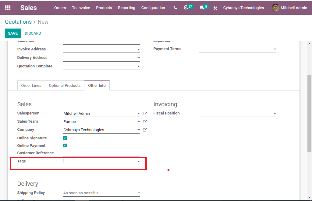 configuration-and-benefits-of-tags-in-the-odoo-sales-module