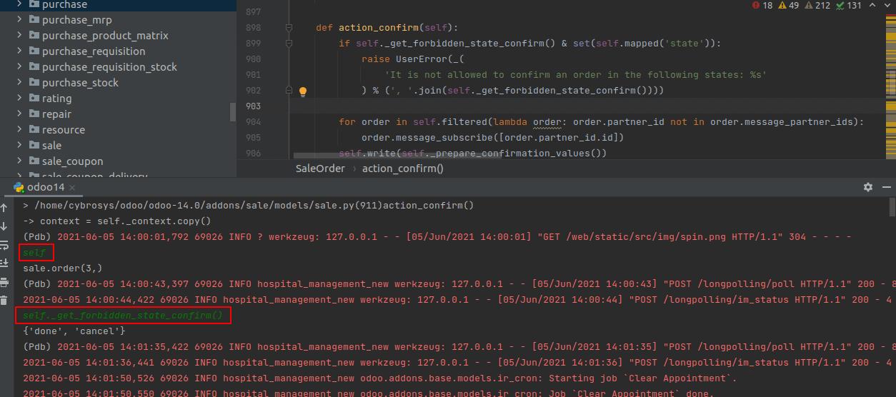 debugging-in-odoo