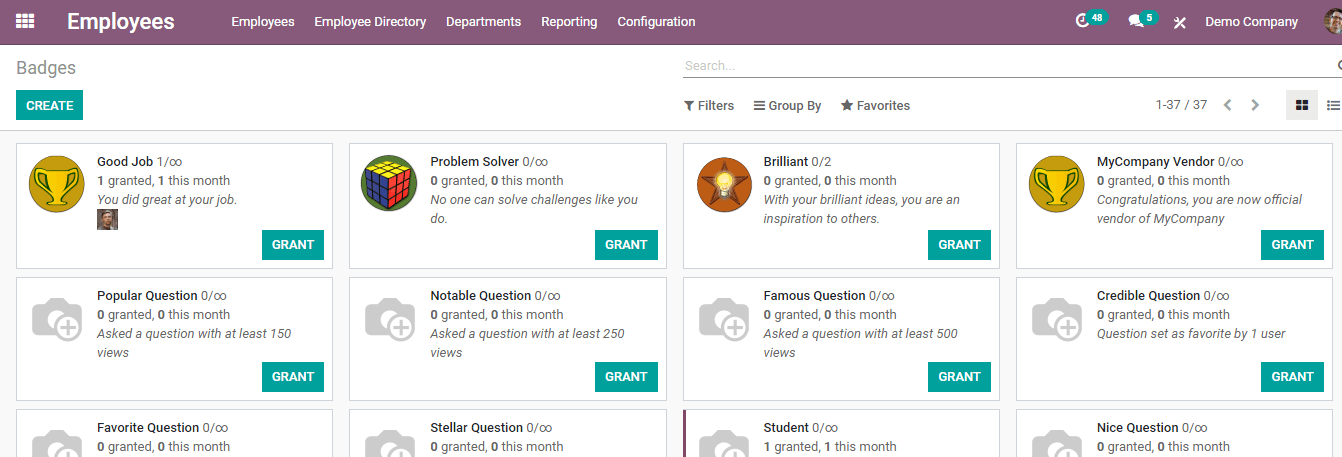 reporting-and-configuration-in-odoo-employee-module