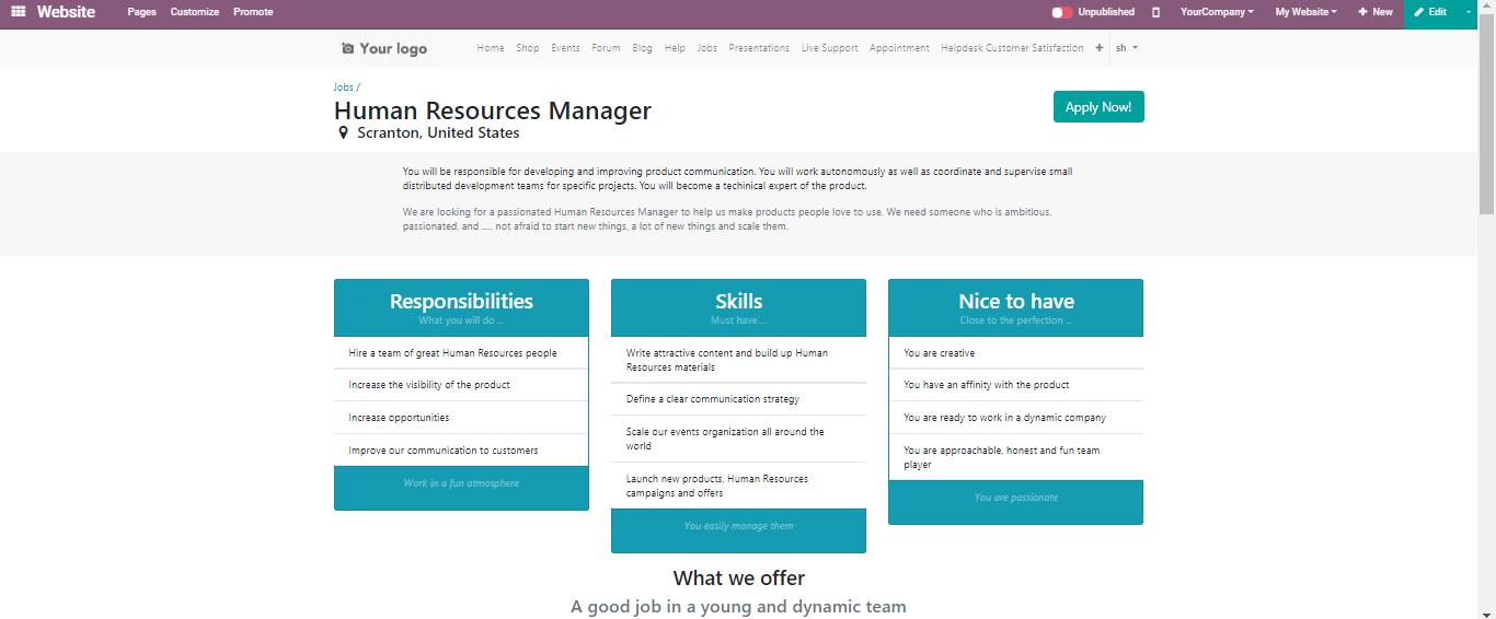 odoo-human-resource