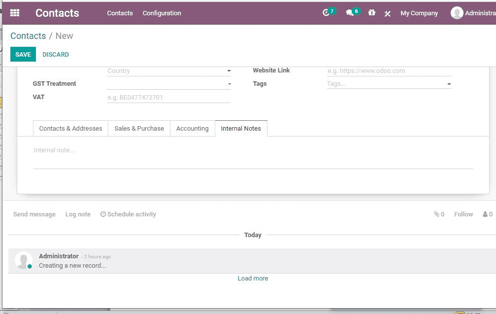 odoo-contacts