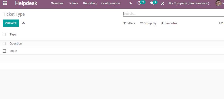 Odoo Helpdesk