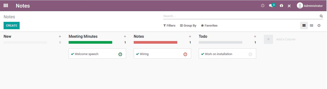 odoo-notes