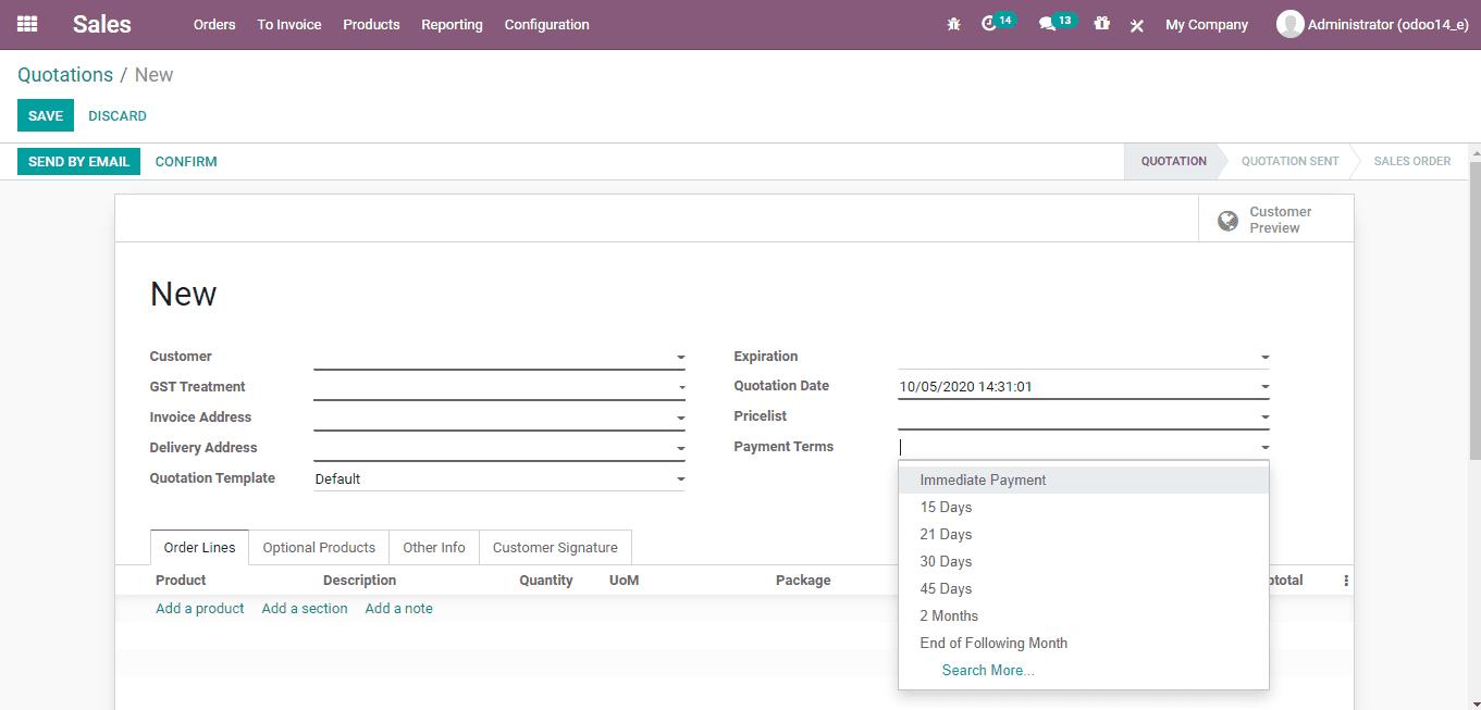 odoo-sales-invoice