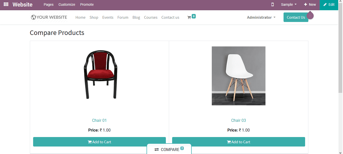 odoo-website