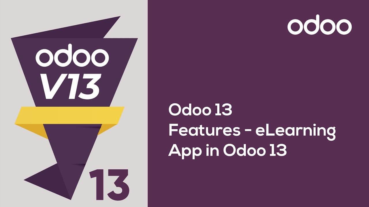 eLearning App in Odoo 13