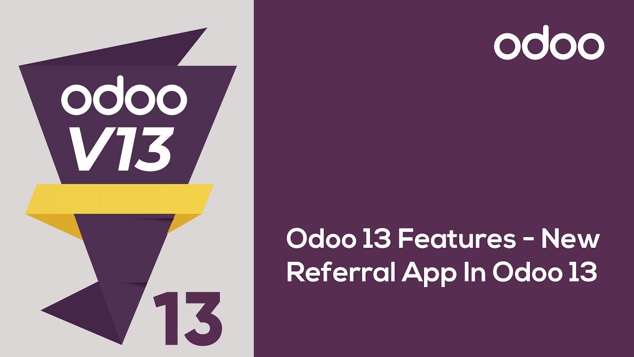 New Referral App in Odoo13
