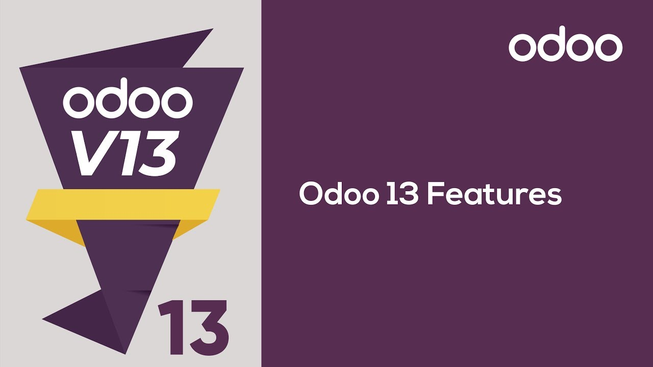 Odoo 13 Features